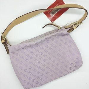 Dooney & Bourke Light Purple Sig Mini Shoulder Sac